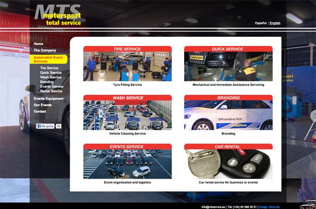 Nueva web de MTS