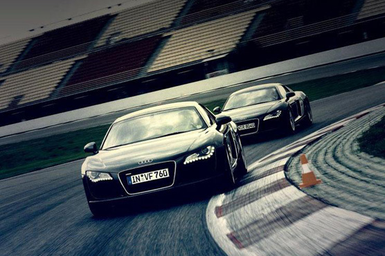 MTS, present at the Audi Driving Experience 2014