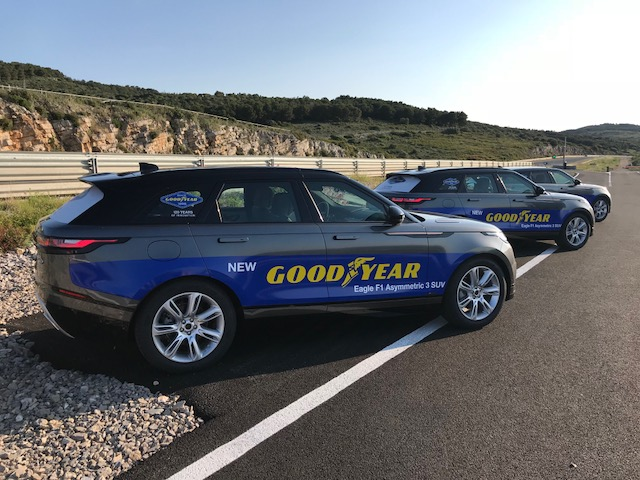 Introducing the New Goodyear Eagle F1 Assymetric 3 SUV