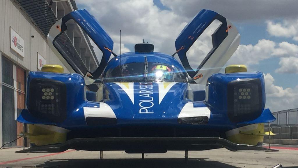 MTS and Dunlop Motorsport at the Circuito de Navarra Race Track