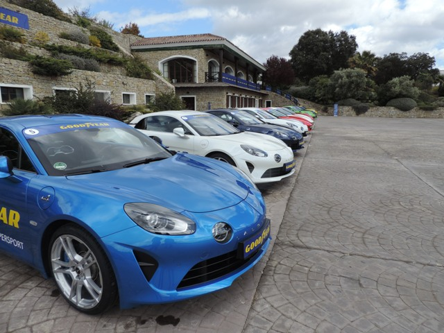 MTS essential services at the Ascari race circuit