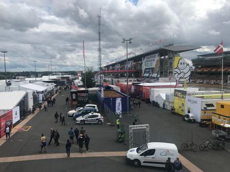 MTS se emplea a fondo en las 24 horas de Le Mans de 2019