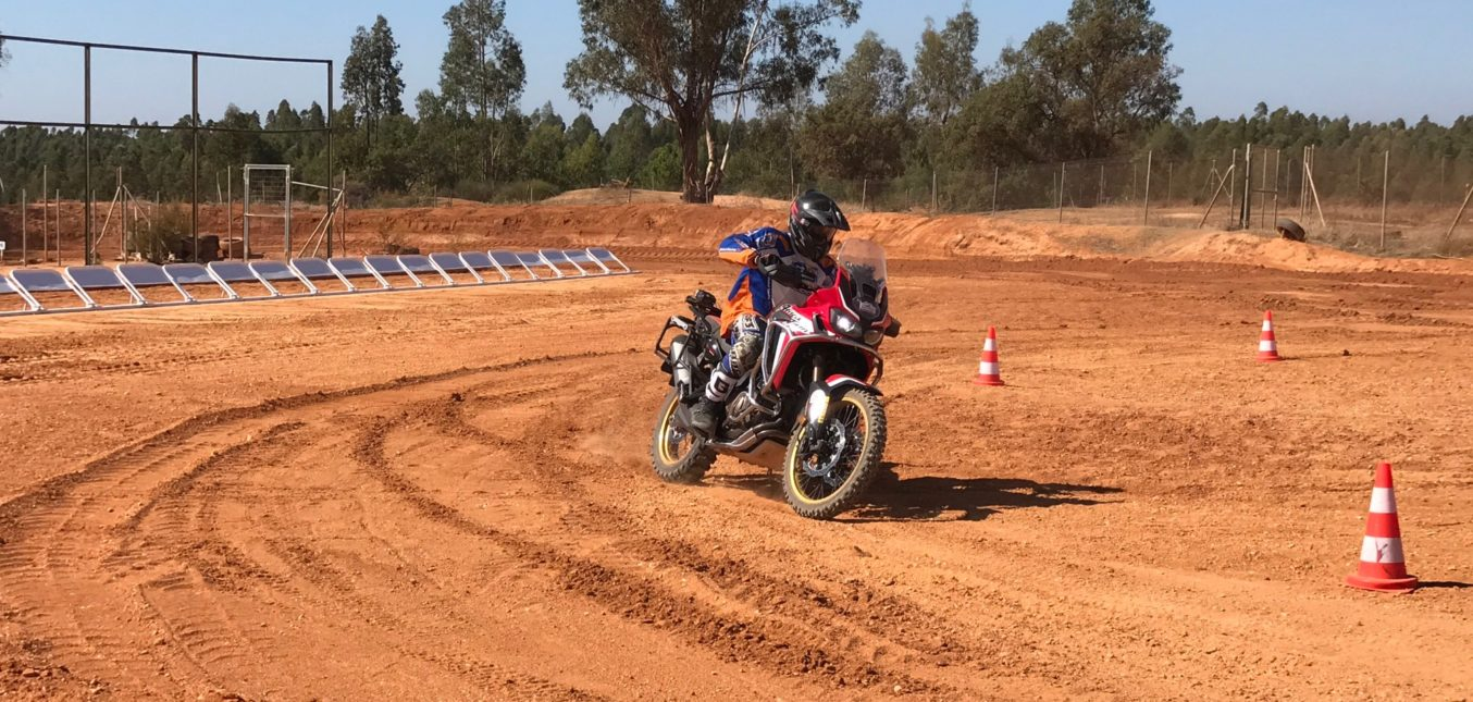 Assistance in motorcycle tire testing