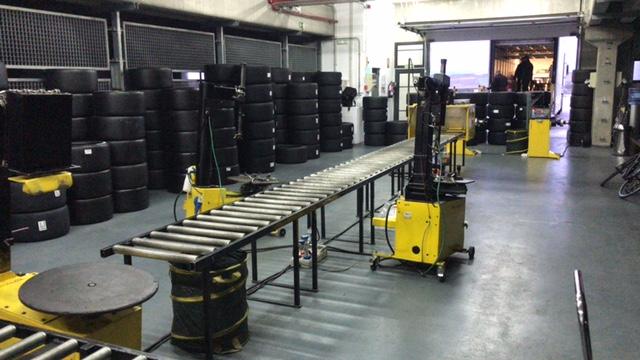 MTS servicio de asistencia en neumáticos para Good Year