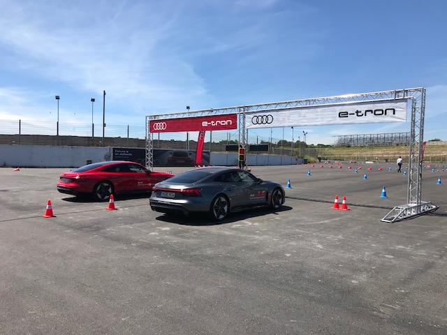 Evento Audi e-tron GT RS en el Jarama